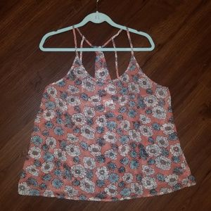 Passport Floral Swing Top